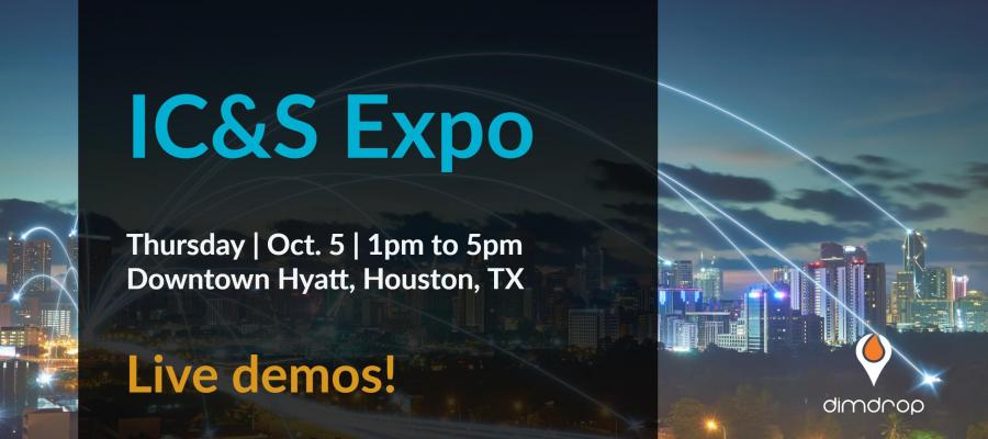 DimDrop at the 2017 IC&S Expo Oct 5